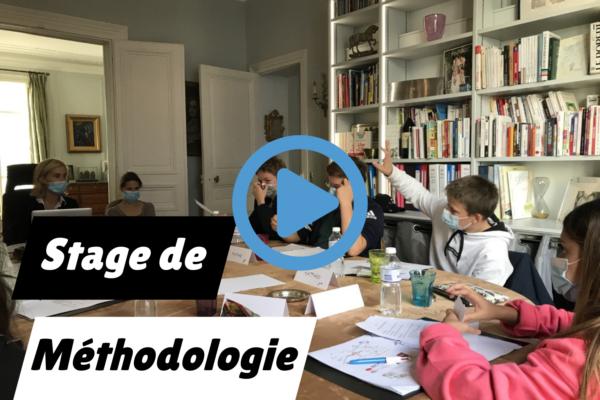 Vidéo : Stage de méthodologie